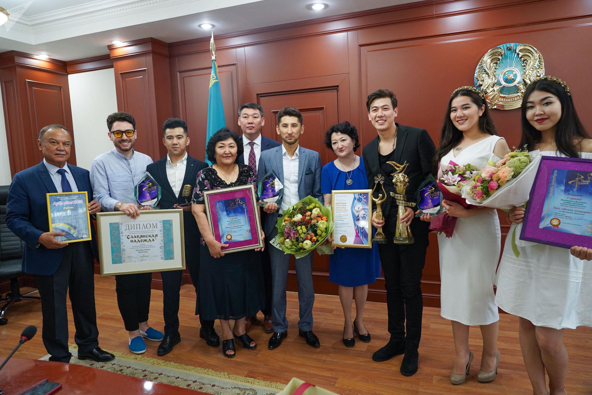 Адильхан Макин посвятил свою победу на Славянском базаре народу Казахстана