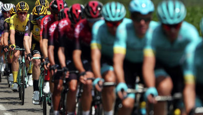Десятый этап велогонки Тур де Франс