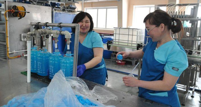 Фабрика по производству мыла в Петропавловске