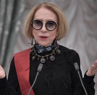 Народная артистка СССР, актриса Московского государственного театра Ленком Инна Чурикова