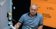 Заслуженный тренер Кыргызстана, президент Федерации кикбоксинга КР Александр Воинов