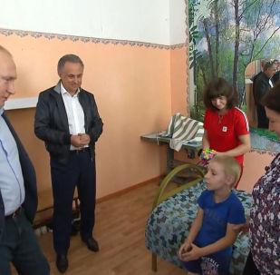 Вы Путин? Я вас в телевизоре видел! - маленький Матвей поговорил с президентом