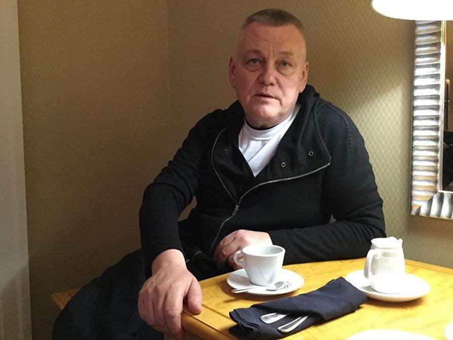 Бывший заключенный мариупольского аэропорта Павел Каракосов