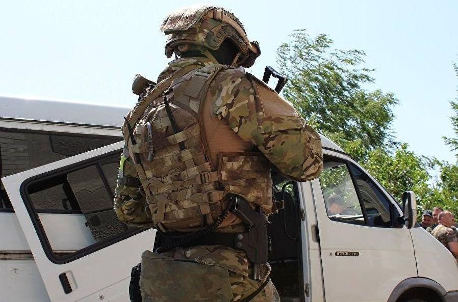 Сотрудник Службы безопасности Украины