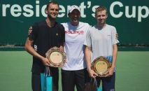 Кубок Президента-2019  по теннису в мужском парном разряде остается дома