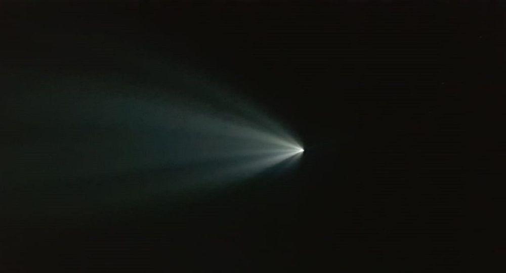 Корабль с экипажем стартовал с космодрома Байконур