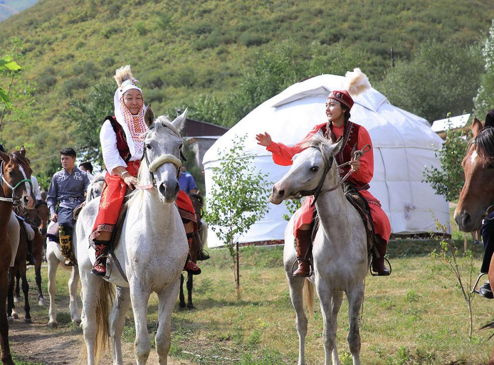 Фестиваль военного искусства кочевников
