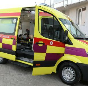 Бригада скорой медицинской помощи, архивное фото