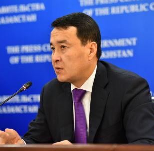 Қаржы министрі Әлихан Смайылов