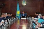 Заседание правительства Казахстана, архивное фото