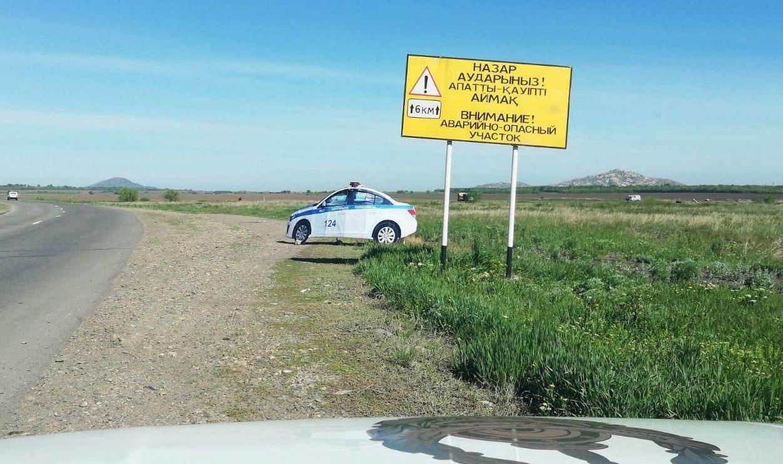 Муляжи полицейских авто на трассах в ВКО