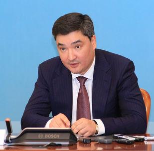 Первый заместитель председателя Агентства по противодействию коррупции Олжас Бектенов