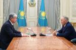 Назарбаев Тоқаевпен кездесті