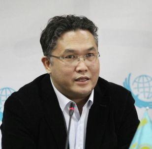 Казахстанский политолог Расул Жумалы