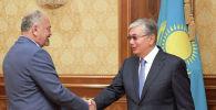 Президент Казахстана Касым-Жомарт Токаев принял председателя Союза театральных деятелей Казахстана Тунгышбая Жаманкулова