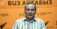 Заведующий Тянь-Шанским высокогорным центром при Институте водных проблем и гидроэнергетики Национальной академии наук КР Рысбек Сатылканов