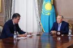 Нурсултан Назарбаев принял исполнительного директора Фонда Первого Президента РК – Елбасы Асета Исекешева