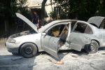 Иномарка сгорела на ул. Байтурсынова
