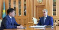 Қасым-Жомарт Тоқаев Шымкент әкімі Ерлан Айтахановты қабылдады