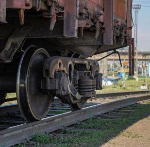 Колеса товарного состава, иллюстративное фото