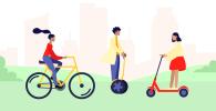 Сегвеи, велосипеды, самокаты: кто водитель, кто пешеход
