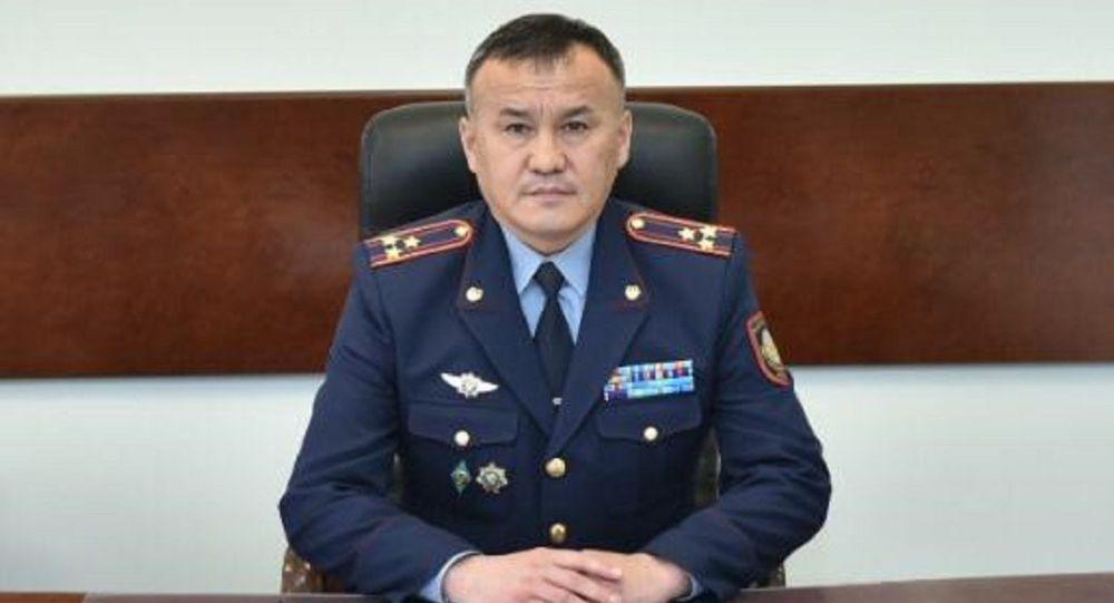 Председатель КУИС полковник юстиции Дархан Канатбеков