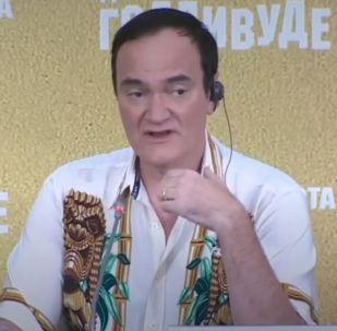 Квентин Тарантино презентует в Москве фильм «Однажды в… Голливуде»