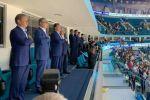 Тоқаев хоккейден Қазақстан президентінің кубогында Барыстың матчын тамашалады