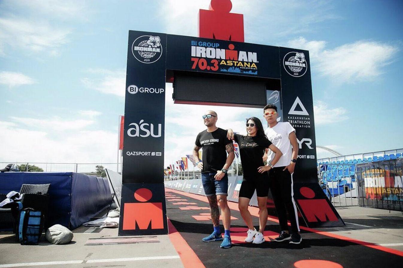 Cпортивное мероприятие Ironman 70.3 Astana