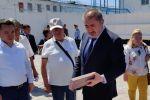 Глава МВД Ерлан Тургумбаев проинспектировал колонию в Алматинской области по поручению президента