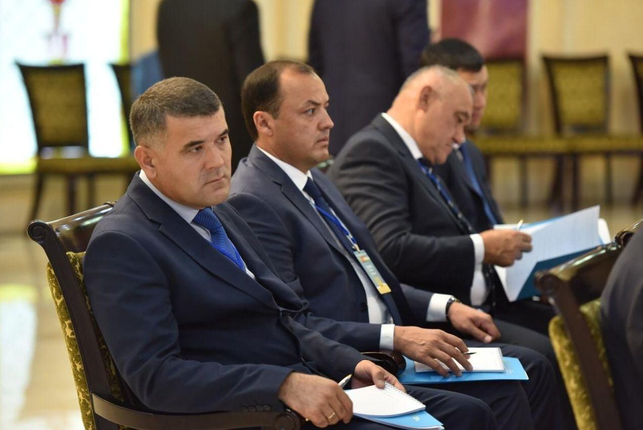 Участники второго совещания министров внутренних дел Казахстана, Кыргызстана, Таджикистана и Узбекистана в Алматы