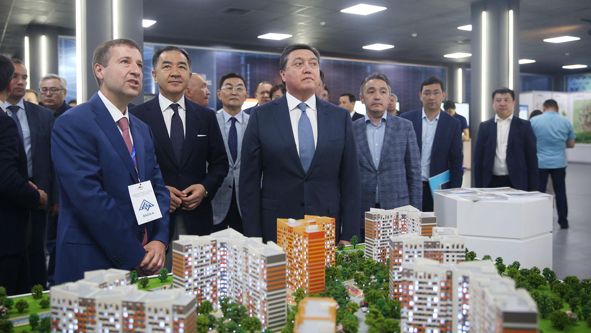 Премьеру презентовали проект застройки Алматы и планы по развитию строительной индустрии города
