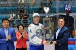 Аскар Мамин вручил Кубок президента Казахстана команде Барыс