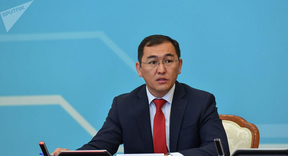 Пресс-секретарь МИД Казахстана Айбек Смадияров