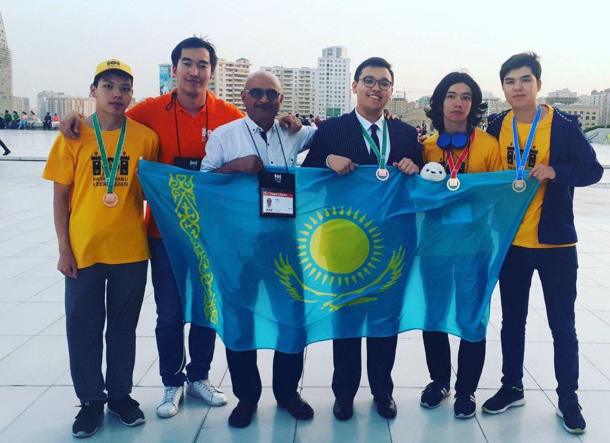Казахстанские школьники завоевали медали на олимпиаде по математике