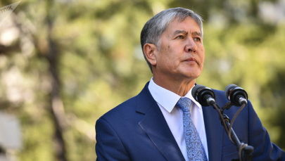 Бывший президент Кыргызстана Алмазбек Атамбаев, архивное фото