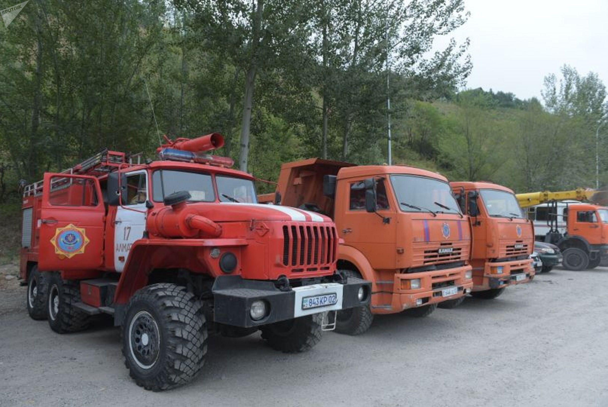 Спасатели ДЧС Алматы находятся на месте селевого выброса