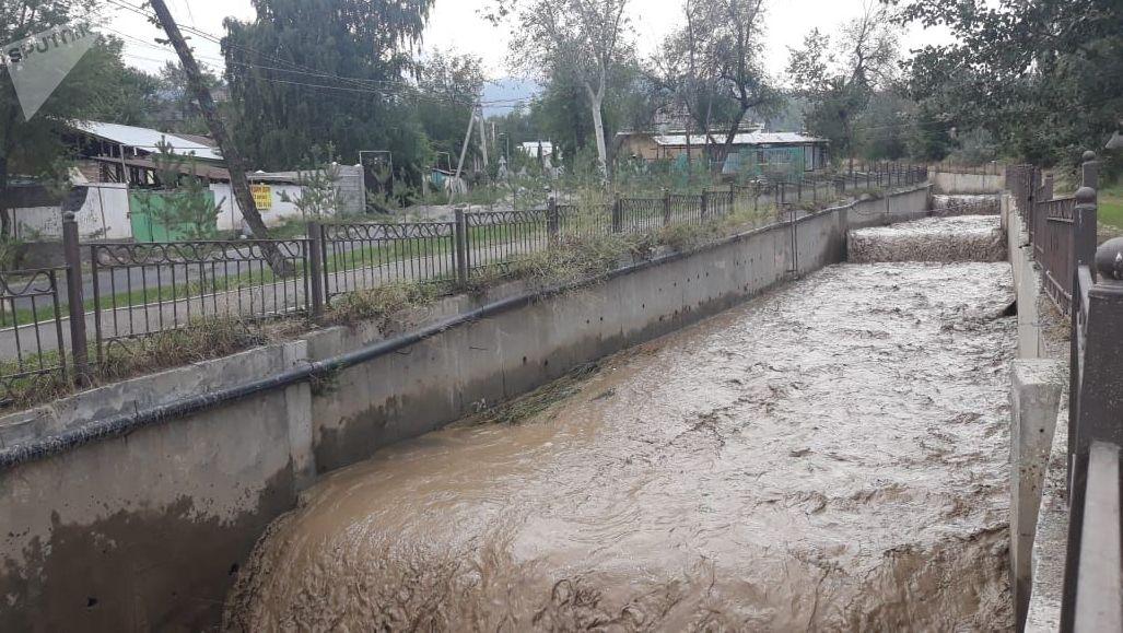 Селевой выброс в Алматы