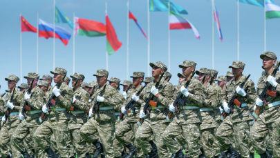 Закрытие казахстанской части Международных армейских игр-2019 на полигоне 40-й военной базы Отар завершилось торжественно и зрелищно