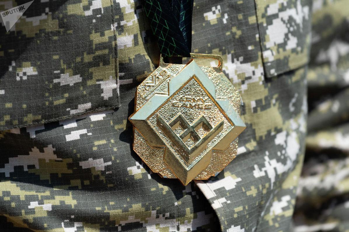 Знак международных Армейских игр-2019