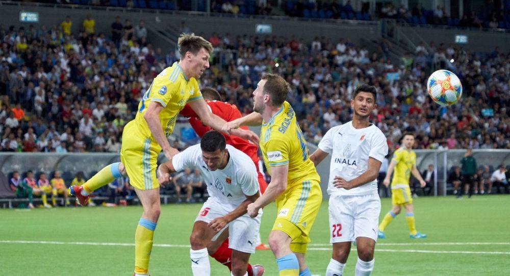 Астана разгромила чемпиона Мальты в гостях у Валетты