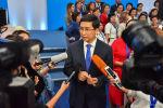 Министр образования Асхат Аймагамбетов в интервью с журналистами после августовской конференции