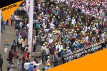 Фестиваль метания камней в Индии