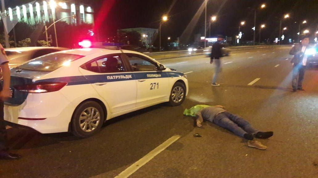 Сбили насмерть пешехода