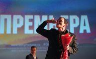 Режиссер Квентин Тарантино во время российской премьеры своего фильма Однажды в... Голливуде