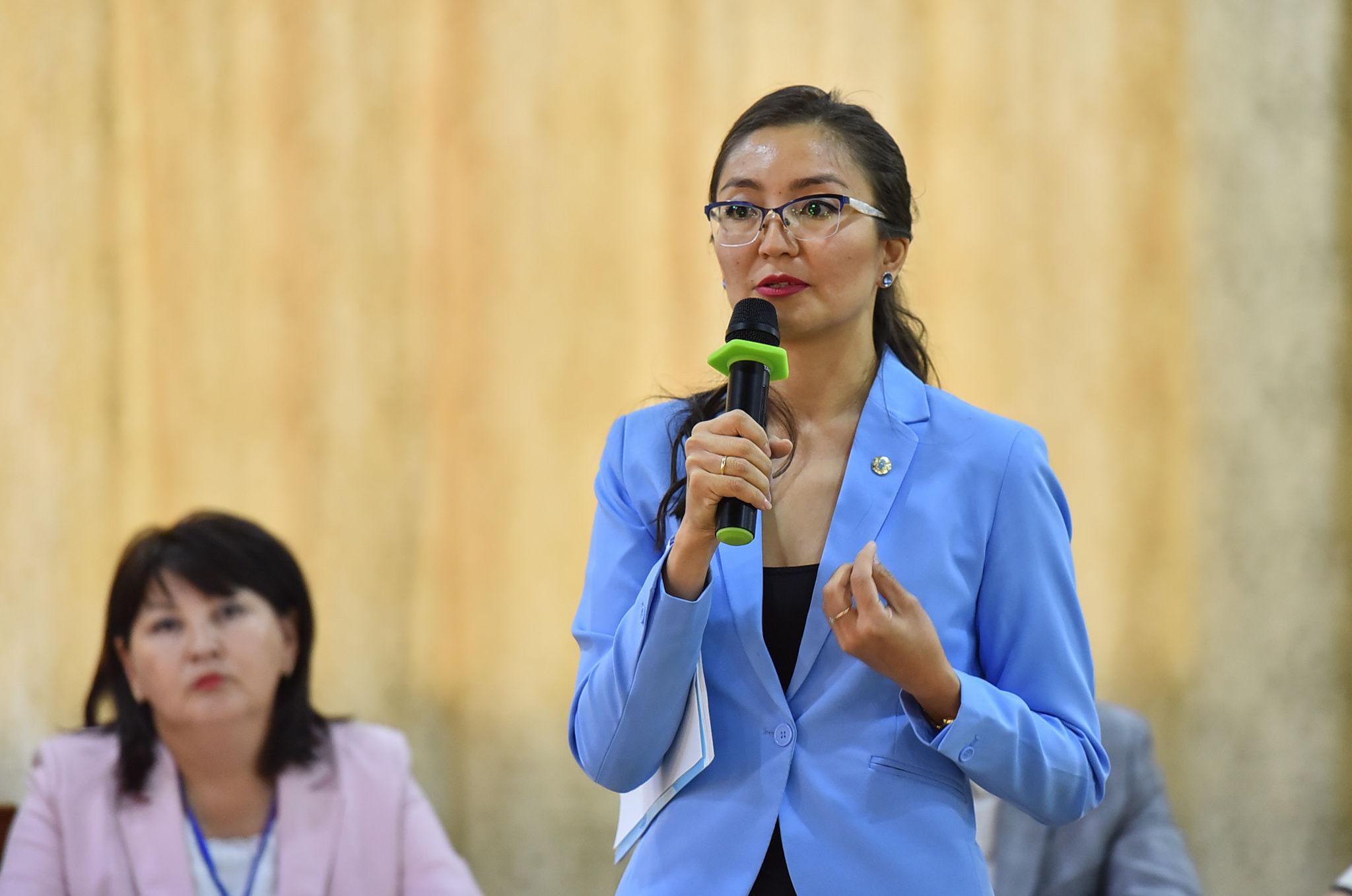Директор республиканского центра развития здравоохранения министерства здравоохранения Казахстана Айнур Айыпханова
