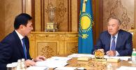 Нұрсұлтан Назарбаев елорда әкімі Алтай Көлгіновті қабылдады