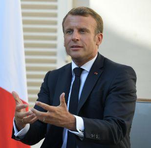 Франция президенті Эммануэль Макрон