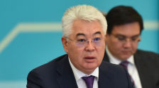 Министр иностранных дел Казахстана Бейбут Атамкулов на встрече высокого уровня формата С5+1