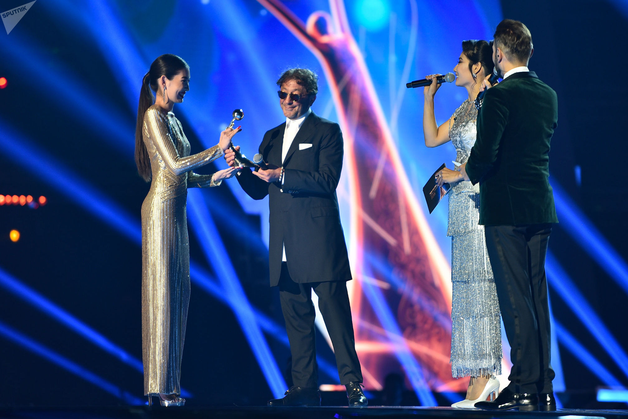 Григорий Лепс на фестивале Nur-Sultan Music Awards 2019 признался, что ему нравится бывать в столице Казахстана